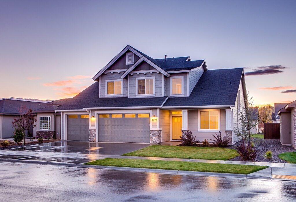 house, garage, driveway